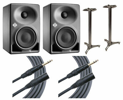 2x Neumann KH 80 KH80 DSP Active Speaker + Ultimate Support 45  Stands + Mogami • 744.41£