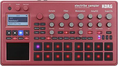 Korg electribe sampler RD Metallic Red ELECTRIBE2S-RD Music Production Station