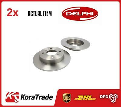 2 X DELPHI BRAKE DISC SET BG2633 • 96£