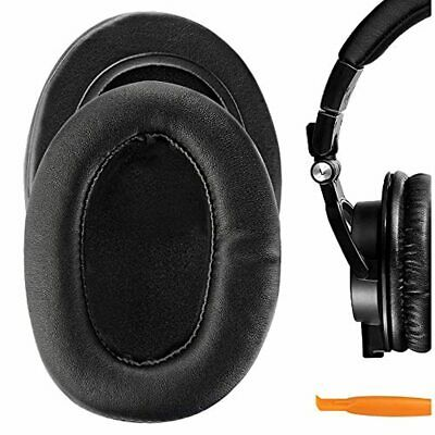 Geekria Performance Protein Leather Ear Pads For Audio Technica ATH-M50X M40X M • 24.91£