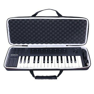 LTGEM EVA Hard Black Tough Case For Native Instruments Komplete Kontrol M32 C... • 55.99£