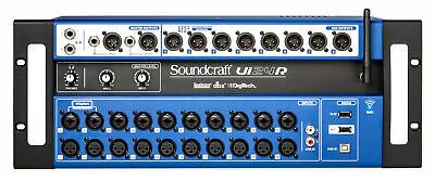 Soundcraft Ui24R 24 Input Digital Mixer W/Wifi+App Control+Recording Ui 24R • 379.62£