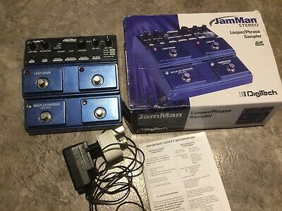 Digitech Jamman Stereo Boxed Good Condition Looper JML-2 • 230£
