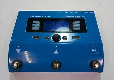 TC Helicon VoiceLive Play Vocal Effects Pedal-DAMAGED-RRP £203 • 114.30£