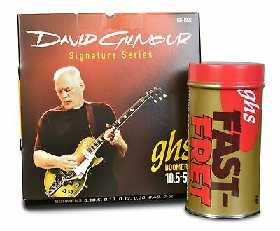 Ghs Fast Fret Bundle With David Gilmour Boomers Red 10.5-50 Bundle Deal Dg Red • 25.99£