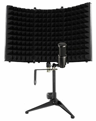 Audio Technica AT2041SP AT2020+AT2021 Studio Condenser Microphones+Iso Shield • 144.01£