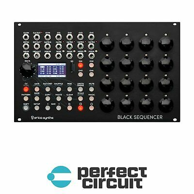 Erica Black Sequencer Four-Track Sequencer EURORACK - NEW - PERFECT CIRCUIT