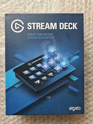 Elgato Stream Deck-Live Content Creation Controller With 15 Customisable Keys • 180£