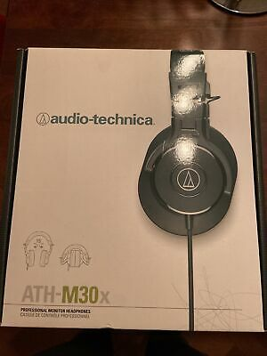 Audio-Technica ATH-M30X Professional Monitor Headphones • 30£
