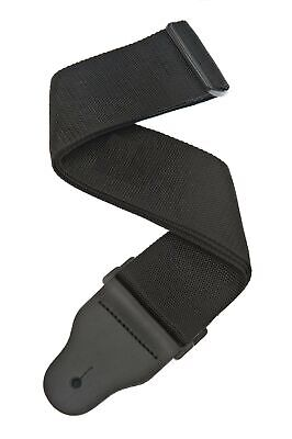 Planet Waves 3 Inch Wide Bass Guitar Strap - Black • 33.99£