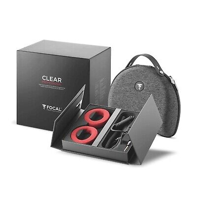 BRAND NEW Focal Clear Professional Headphones (Audiophile) - Made In France • 895.13£
