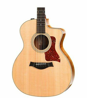 Taylor 214ce Koa Deluxe Grand Auditorium Acoustic-Electric Guitar Natural • 1,072.32£