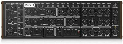 Behringer Analog Synthesizer PRO-1 Pro One 16 voice polychain From Japan New