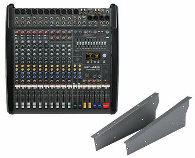 Dynacord PowerMate PM1000-3 10-Channel Compact Power Mixer + Rack Mount Kit • 2,152.98£