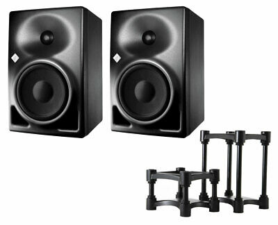 2x Neumann KH120A KH 120A Active Speakers + IsoAcoustics ISO-155 Stands (Pair) • 1,050.09£
