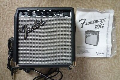 Fender Frontman 10G Guitar Amp. Hardly Used, With Original Box And Instructions. • 35£
