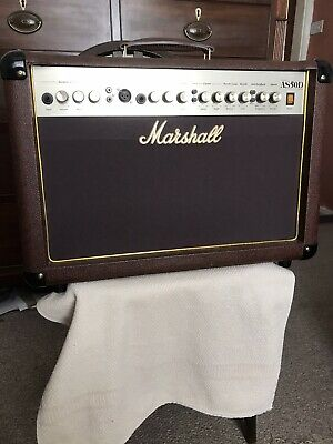 Marshall AS50D 50W Acoustic Guitar Amplifier • 165£