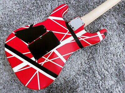 Evh Striped Series 5150 Red With Black And White Stripes Outlet 2020 Make • 1,506.30£
