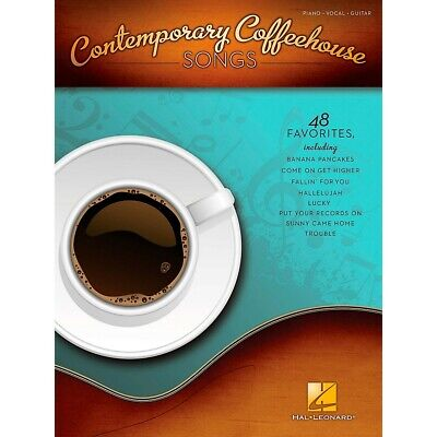 Hal Leonard Contemporary Coffeehouse Songs For Piano/Vocal/Guitar PVG • 14.19£