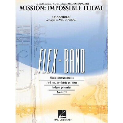 Mission: Impossible Theme Concert Band Level 2-3 Arranged By Paul Lavender • 39.04£