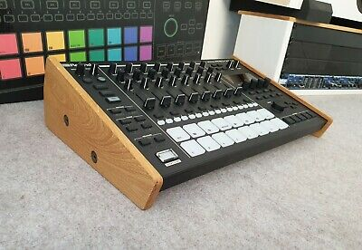 Roland MC707 Solid Oak Stand From Synths And Wood Drum Machine Sampler • 59.99£