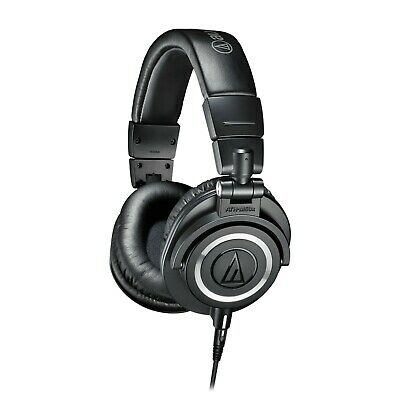 Audio Technica ATH-M50X Closed Back Pro Studio Monitor Headphones - Black • 41£