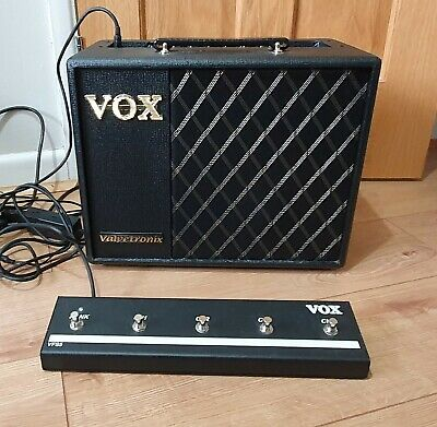 VOX VT20X Modelling Amp With VFS5 Pedal Switches • 80£