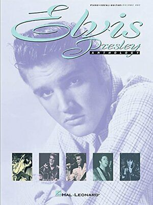 Elvis Presley Anthology - Volume 1 (Piano Vocal Guitar) Book The Cheap Fast Free • 17.99£