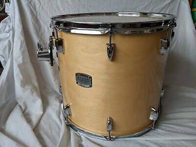 16 Inch Yamaha Stage Custom Birch Tom Drum Natural Wood almost perfect condition