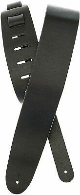 Planet Waves 25BL00 Basic Classic Leather Guitar Strap - Black, 2.5 in*9.1 in*7.
