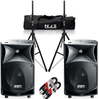 EV Electrovoice ZLX 15 15  Active Powered Speakers With Stands & Cables ZLX15P  • 929£