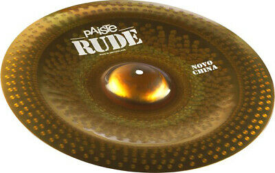 Paiste 1122520 Rude Series 20  Novo China Cymbal With Integrated Bell Character • 243.05£