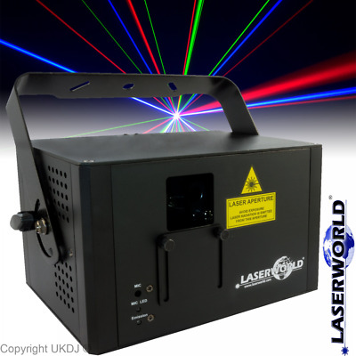 Laserworld CS-1000RGB Mk2 - RGB Professional Club Laser FX Effects CS1000 MkII • 425£
