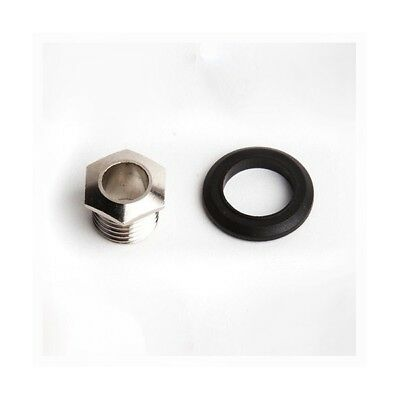 SubDecay Input Output Jack Replacement Nut & Collar ForVitruvian Mod Pedal • 4.73£