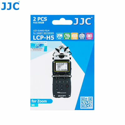 JJC 2PCS LCD Guard Film Screen Display For Zoom H5 Four-Track Portable Recorder • 7.99£