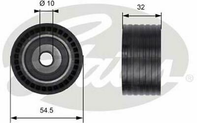 GATES Timing Belt Idler Pulley T41237 - Discount Car Parts • 35£