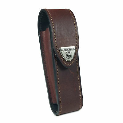 Victorinox Leather Pouch Belt Loop For Swiss Army Tool (2-4 Layers) -Brown • 19.99£