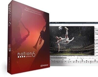 PresonusNotion 6 Music Notation Software For Mac PC Mobile EDelivery NEW • 123.02£