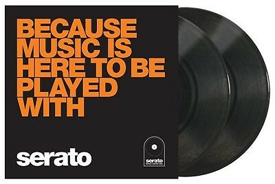 "Serato 10"" Performance Series (pair) Sealed - Because Music Is Here To Be Played • 14.73£"