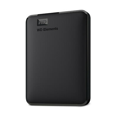WD Western Digital Elements External Hdd 2.5 USB 3.0 Portable Hard Drive Disk  • 74.99£