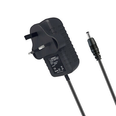 3 Pin UK Plug Adapter Power Supply For TC Electronics Mini Polytune Tuner • 4.59£