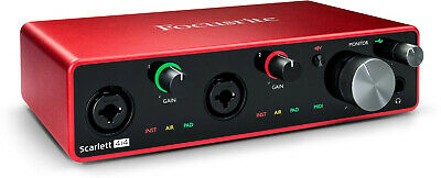 Focusrite Scarlett 4I4 3RD Gen Audio Interface USB New Warranty • 194.71£