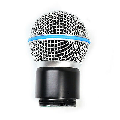 Wireless Mic Replacement Capsule Head For Shure System SM58 BETA58/58A PGX4 SLX4 • 9.94£