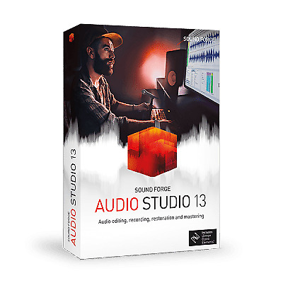 SOUNDFORGE Audio Studio 13 +NEW 2020 EDITION++ DISK AND DOWNLOAD + • 44.99£