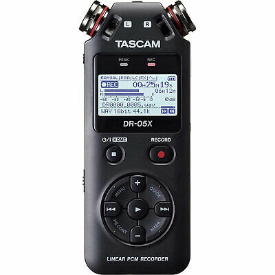 Tascam DR-05X Stereo Handheld Digital Audio Recorder And USB Audio Interface • 85.51£