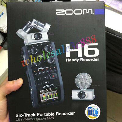 Zoom H6 Portable Handy Audio Recorder With Interchangeable Microphone System • 339£