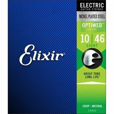 Elixir 19052 Optiweb Guitar Strings Light 10-46 • 13.78£