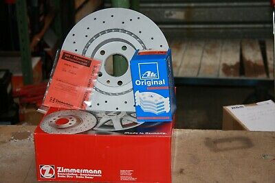 Sport Brake Discs And ATE Brake Pads Vauxhall Adam, Corsa E Set For Front 15   • 165.46£