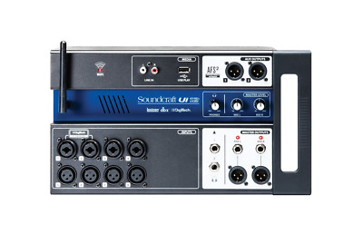 Soundcraft Ui12 Remote-Controlled 12-Input Digital Mixer • 308.47£