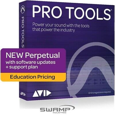 Avid Pro Tools Perpetual Licence - DAW - Education - Fast Electronic Delivery • 237.79£
